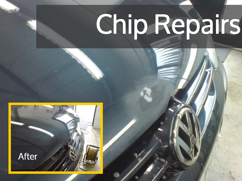 Cost To Repair Chipped Paint Car