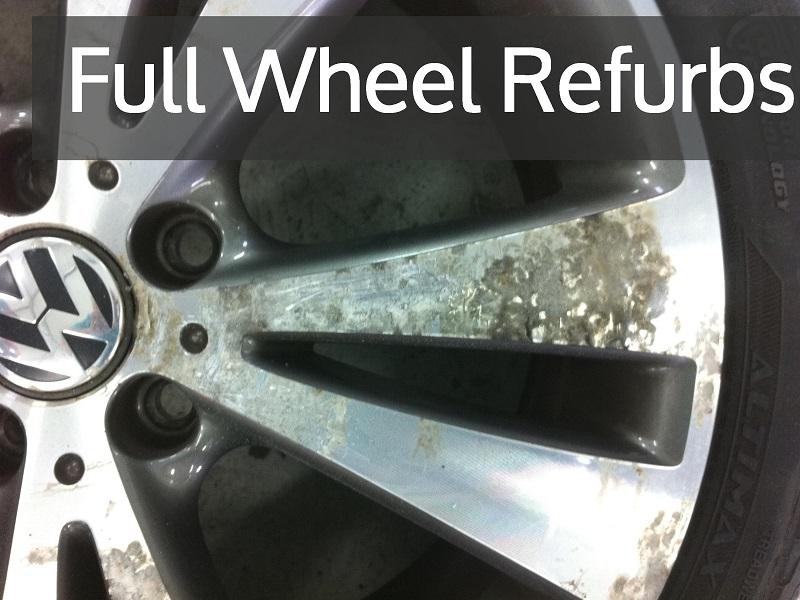 Car Wheel Painting Service