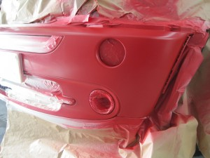 Mini Bumper Repair Shrewsbury Paint