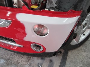 Mini Bumper Repair Shrewsbury Prime