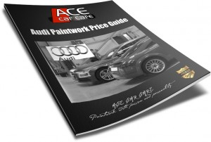 Audi Paintwork eGuide Cover
