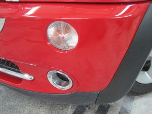 Mini Bumper Repair Shrewsbury Lacquered